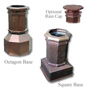 Chimney Pots by Copper-Inc.