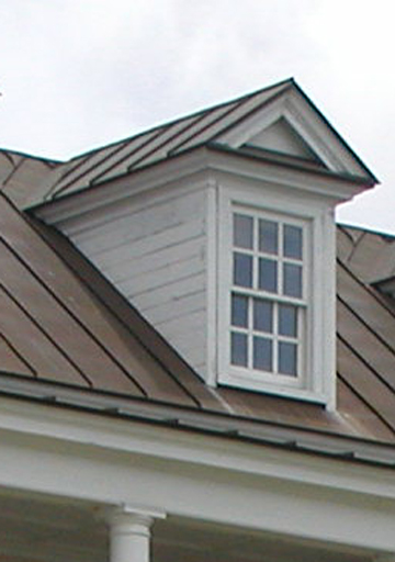 A Classic Charleston Dormer with Full Cornice